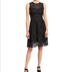 Nanette Lepore Flower Sleeveless Eyelet Dress 6